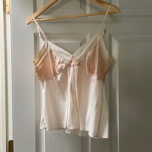 Rebecca Taylor soft pink camisole top